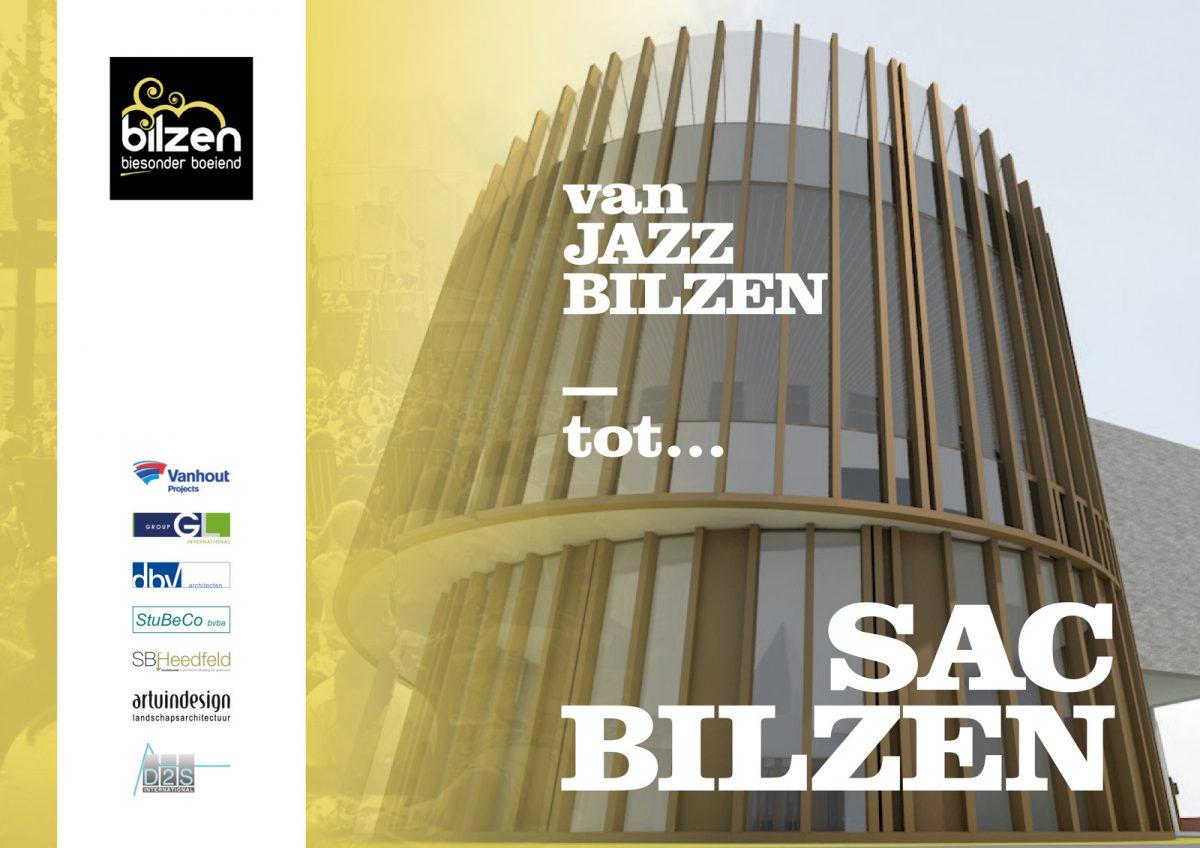 Sfeerbeeld van het nieuw administratief centrum in Bilzen